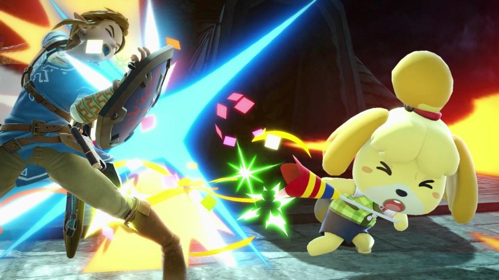 Isabelle Super Smash Bros. Ultimate Smash