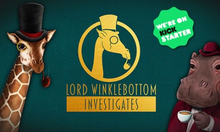 A giraffe in a top hat! 🎩 Solve crimes as a Giraffe Detective in Lord Winklebottom Investigates