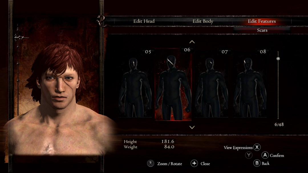 Dragons Dogma Dark Arisen character creator
