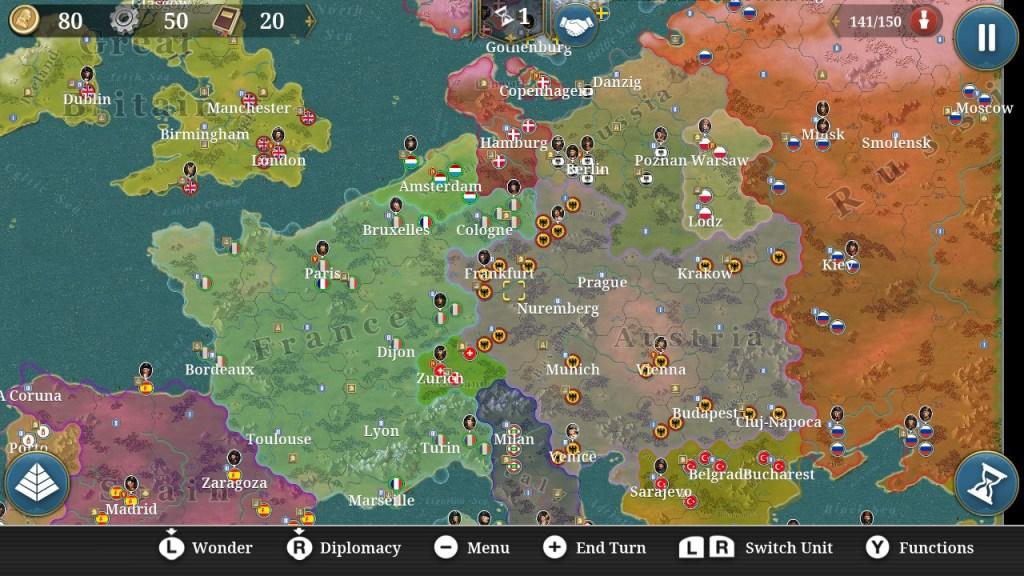 European Conquerer Screenshot 4