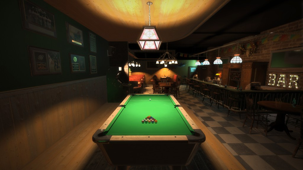 This is Snooker Screenshot