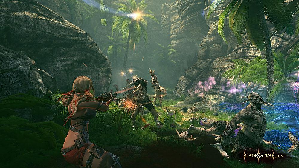 Blades of Time Screenshot
