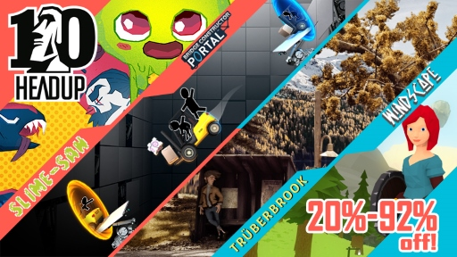 Headup 10th Anniversary Sale on the Nintendo eShop