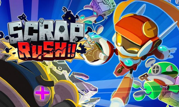 Maze-brawler SCRAP RUSH!! out now for Nintendo Switch and PC/Steam