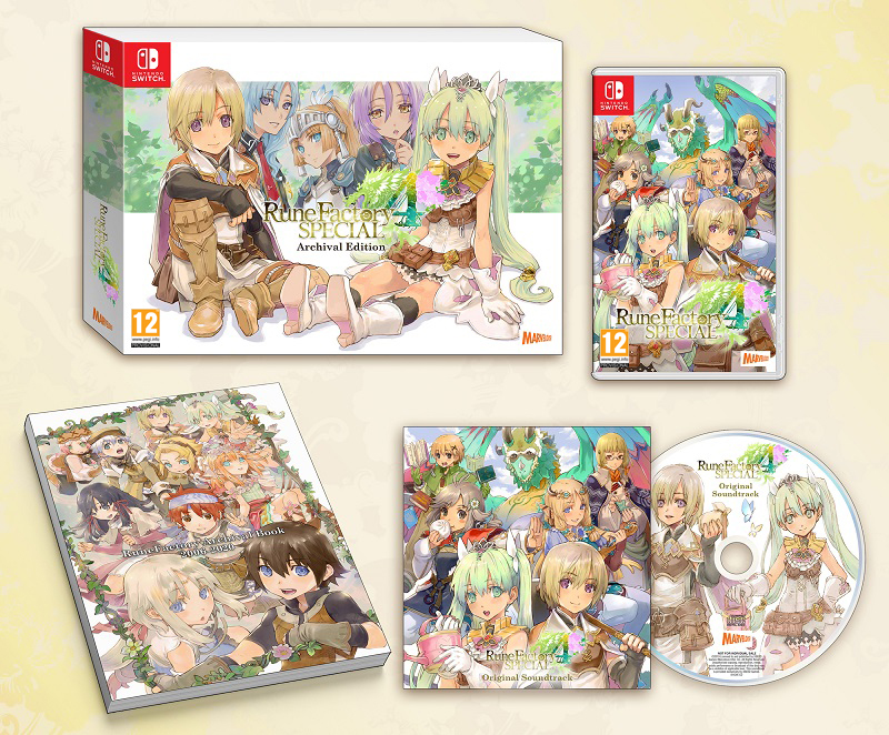 Rune Factory 4 Special 'Archival Edition' Announced for European Release