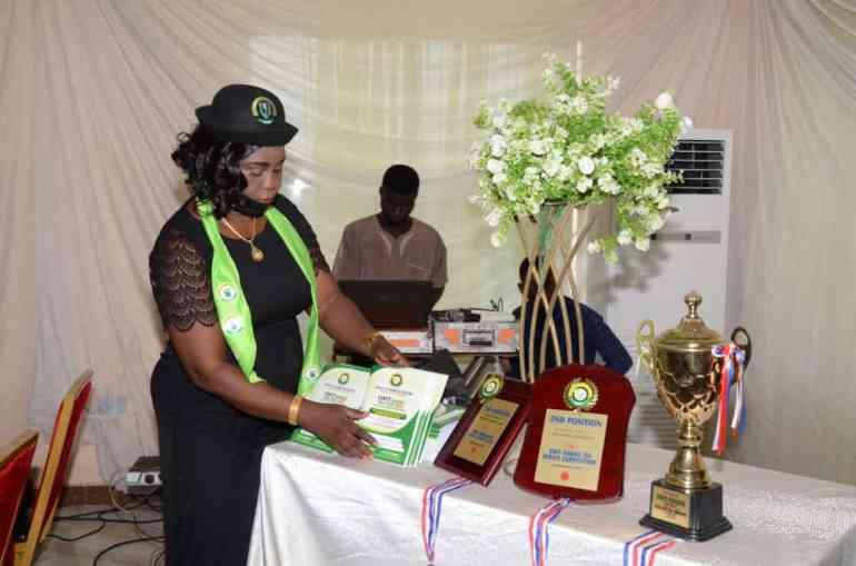 Chairperson SWIT Kwara- Dr. Biola Adimula arranges Awards and Prizes