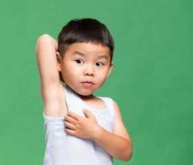 4-year-old Armpit Odor