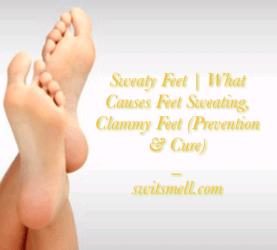 sweaty feet 23