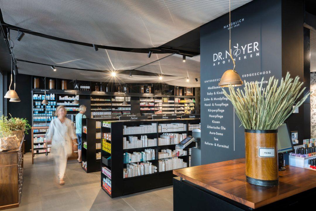 Intérieur pharmacie Dr Noyer