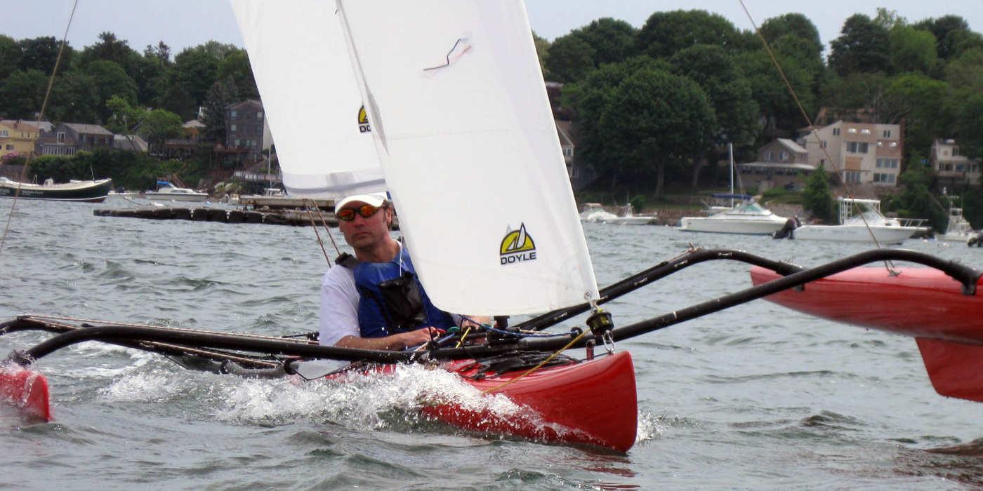 Badass carbon sailing kayak?