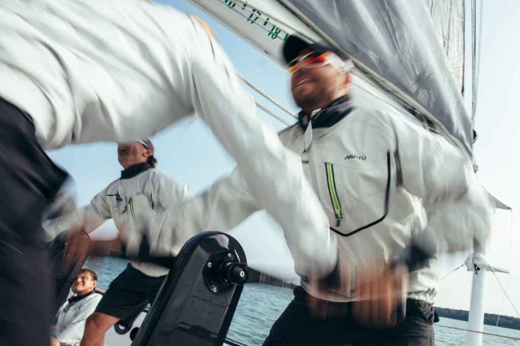 "Thornburg is a little different than your average ""yacht owner."" Credit Rachel Jaspersen/Team Phaedo"