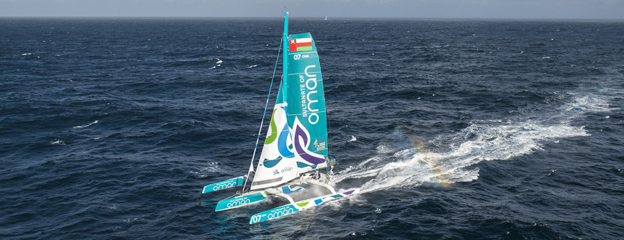 Oman Sail flagship is a MOD70.