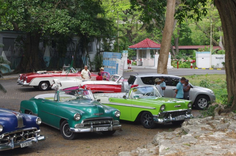 Cuba's cars. Credit Andy Schell