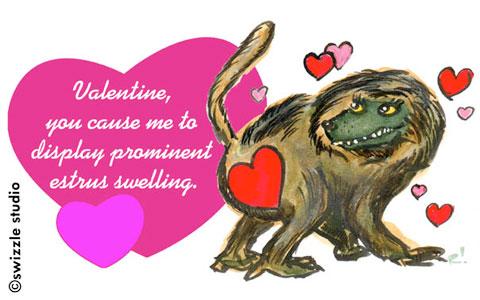valentine-baboon