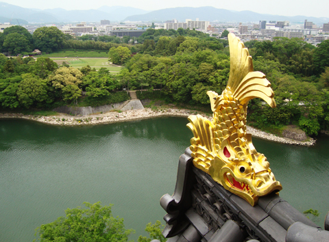 17_okyama castle and garden
