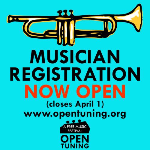 trumpet open tuning