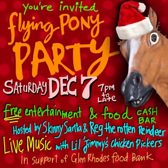Flying Pony invite