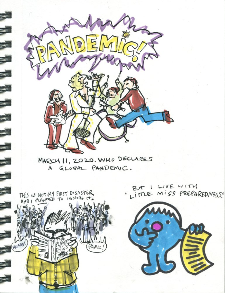 Page 1 My Pandemic Diary: The Who, Mr. Men