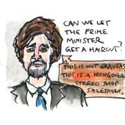 Junstin Trudeau needs a haircut
