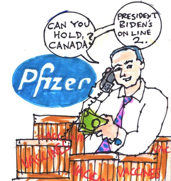Pfizer talks to Biden