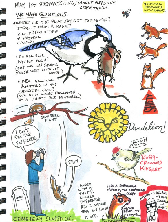 My Pandemic Diary 2 page 53 Nature walks