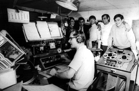 Radio Caroline circa 1960's.
