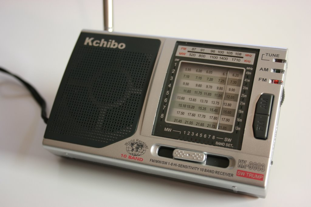 A review of the Kchibo KK-9803 shortwave radio | The SWLing Post