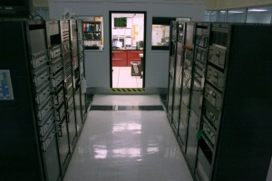 Looking into the shift manager's office (Click to enlarge)