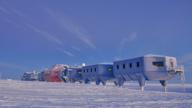Halley VI: The British Antarctic Survey's new base (Source: BBC)