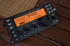 The Elecraft KX3 general coverage Transceiver (Click to enlarge)