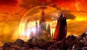 The Citadel of the Time Lords on Gallifrey (Source: Wikimedia Commons)