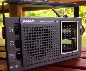 While the Tecsun GR-168 is my current pick amongst self-powered shortwave radios, their performance is only mediocre compared to a proper, hobby-grade receiver with SSB.
