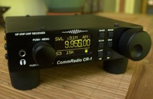 The CommRadio CR-1 is sure to please even the most discriminating radio listener in your life.