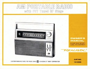 Realistic-12-655-TRF-AM-Radio