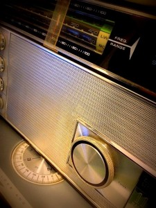 Zenith Transoceanic tuned to shortwave