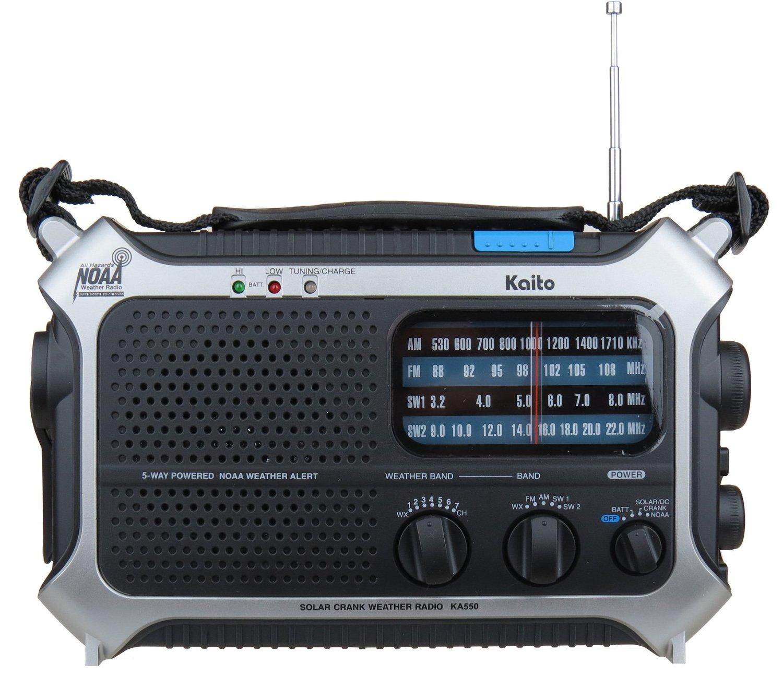 Mehmet Burk reviews the Kaito KA550 self-powered radio   The