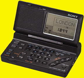 Include in the CIA's Survival Kit: the Sony ICF-SW100 | The