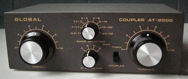 8. Global AT-2000 Antenna Tuner