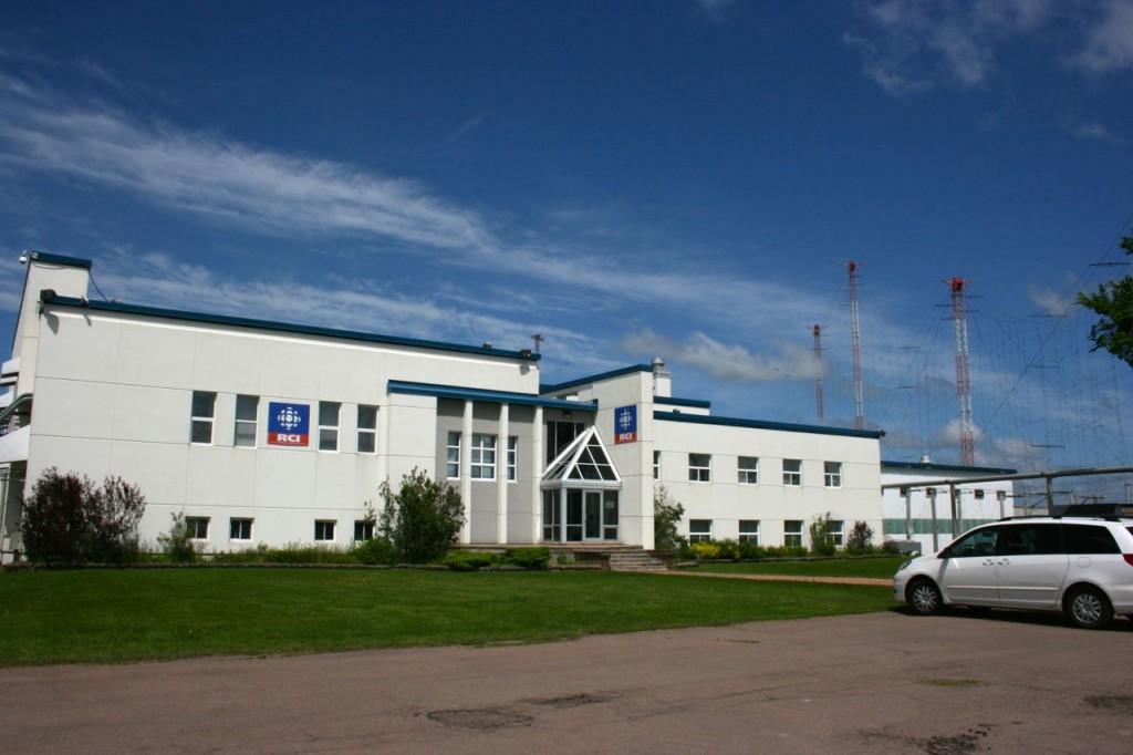 O edifício transmissor da Radio Canada International, Sackville, NB.