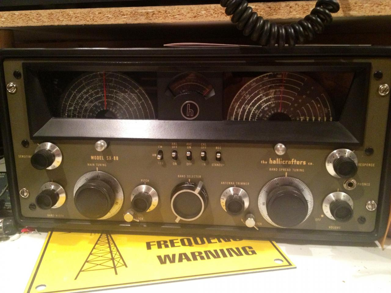 The Hallicrafters SX-88: a rare find and a gem of engineering