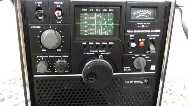 Sony Vintage radio ICF 5800H 002 (1)