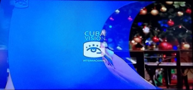 Cubavision International  station identification.