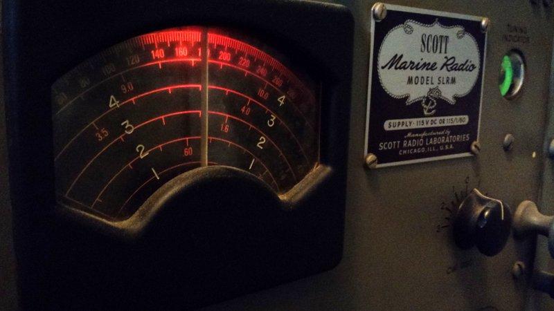 This Morning I Listened To Radio Australia On 9580 KHz With My WWII Era Scott Marine SLR M Above