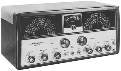 The Hallicrafters SX-96 (Image: Universal Radio)