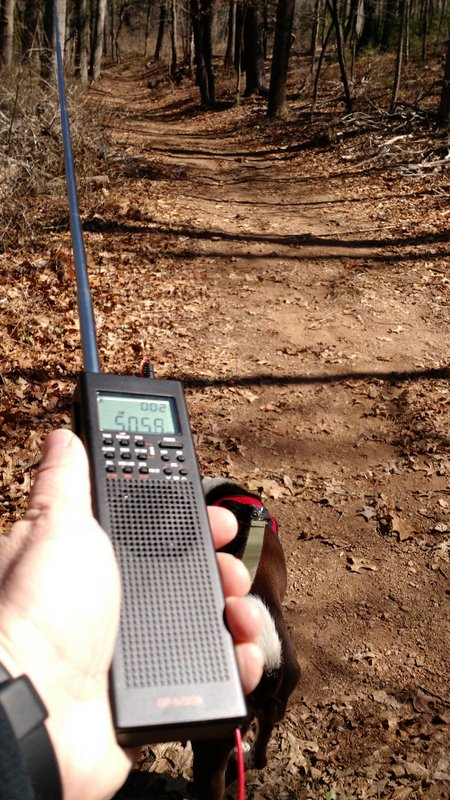CountyComm GP5/SSB while hiking