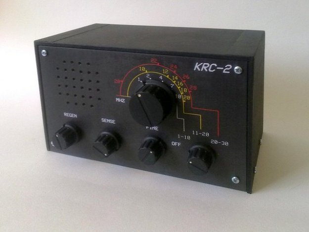 KRC-2 shortwave regenerative receiver kit1