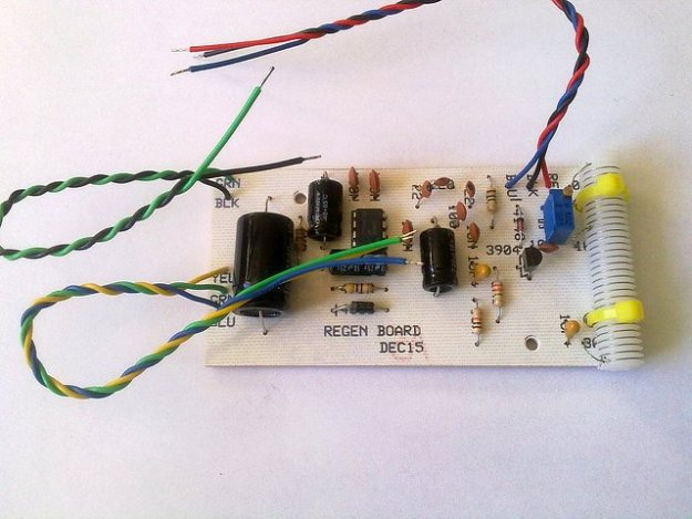 KRC-2 shortwave regenerative receiver kit9
