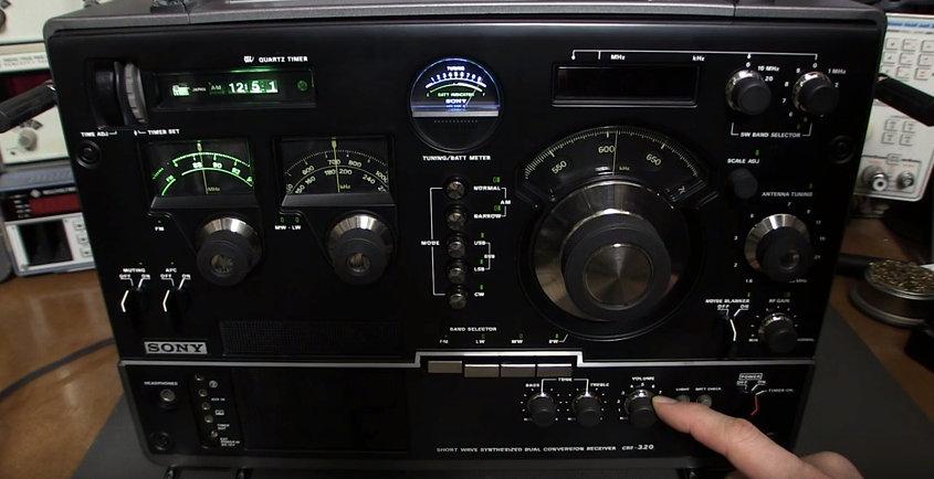 sony crf 320 the swling post rh swling com Sony CRF 320 Radio Sony CRF-320 Internals