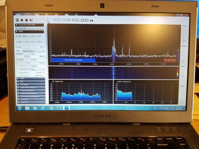 The RTL-SDR V 3 dongle on shortwave: Gary details setup and