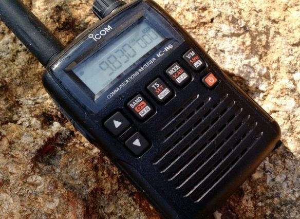 An SWL's review of the Icom IC-R6 Sport 16 wideband handheld